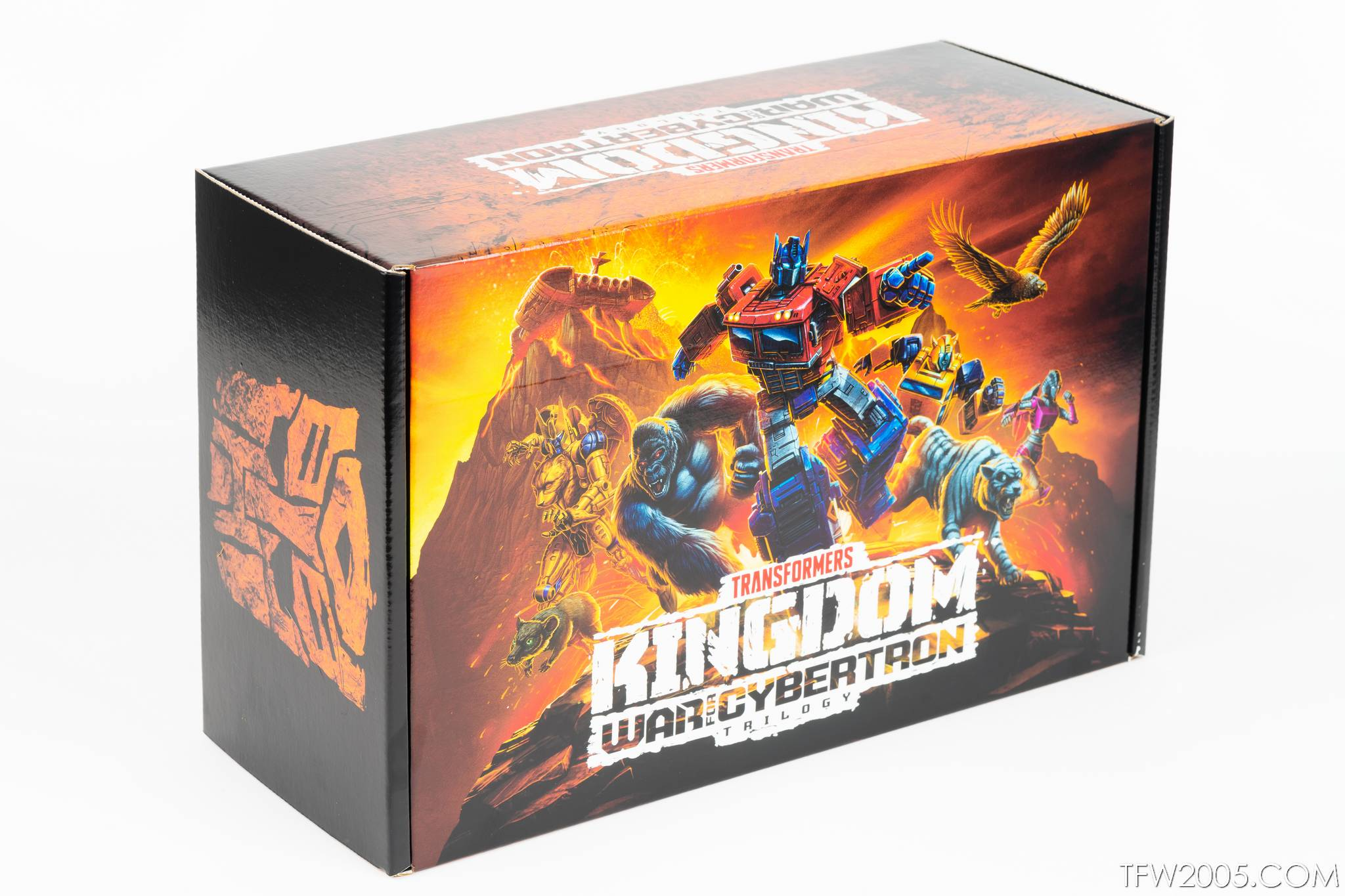 02 Box Transformers War For Cybertron Kingdom Promotional Box - Transformers News - Tfw2005
