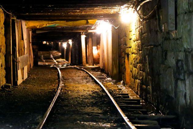 Exhibition Coal Mine Tunnel