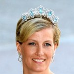 Countess of Wessex with aquamarine tiara