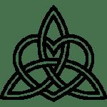 Trinity Knot With Heart