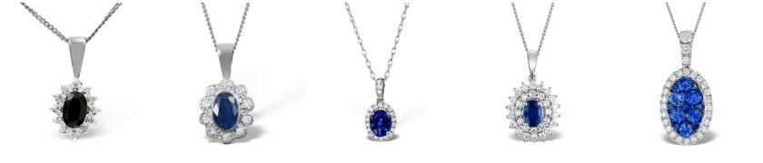 Kate Middleton's sapphire jewellery