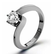 Jaqueline Jossa style Twist Engagement Ring