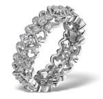 """Trellis"" Diamond Eternity Ring"