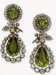 Archduchess Isabellas peridot earrings