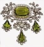 Archduchess Isabellas peridot brooch