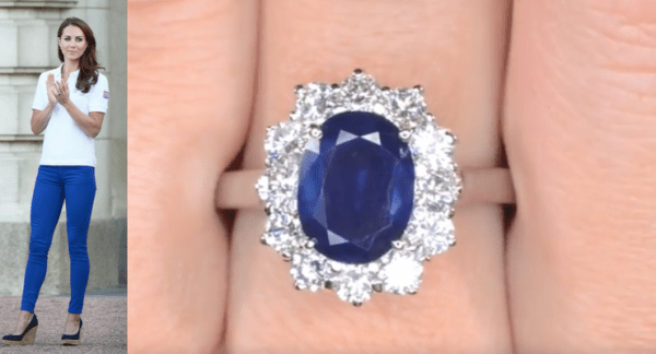 Untitled Design 2 A Sapphire And Diamond Ring Very Similar To Catherine Middletons