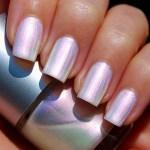 Opal inspired nail polish