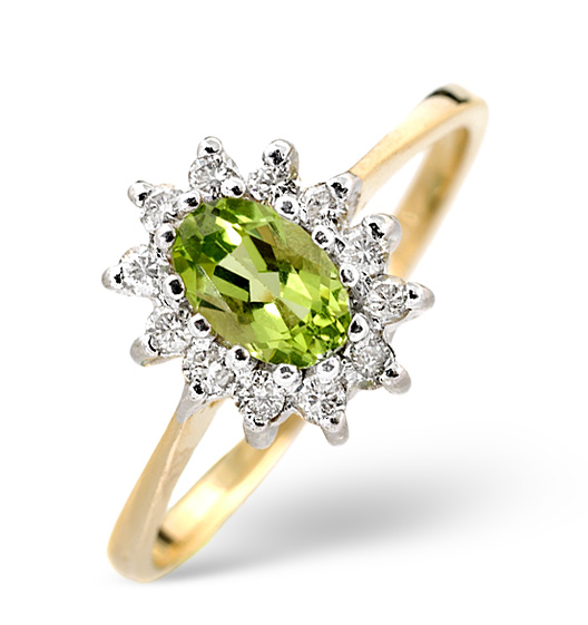 Peridot - Meaning of Gem Colour in Engagement Rings
