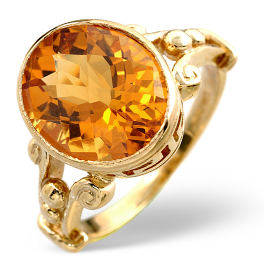 Yellow Citrine - Meaning of Gem Colour in Engagement Rings