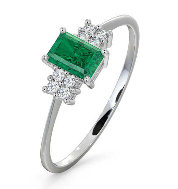 Emerald - Meaning of Gem Colour in Engagement Rings