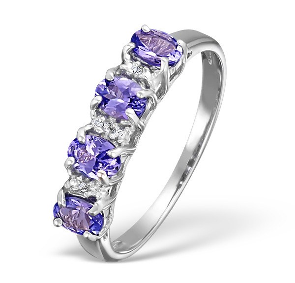 Tanzanite - Meaning of Gem Colour in Engagement Rings