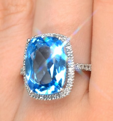 Topaz Ring from TheDiamondStore.co.uk