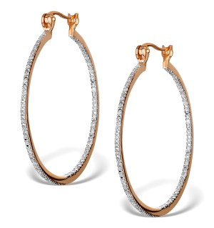These gold vermeil hoop earrings are a beautiful and very affordable Christmas gift