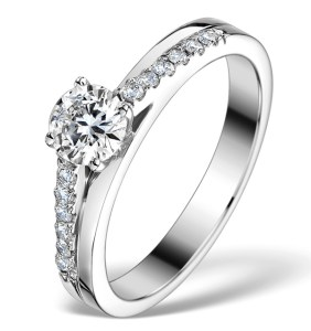 View our Side Stones Engagement Rings