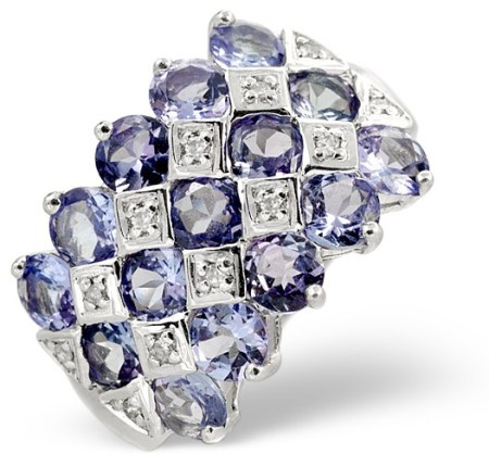 Beautiful Tanzanite Ring - click to view details