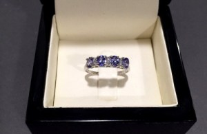 An Exquisite Tanzanite Ring – Perfect for a December Birthday ONLY £179
