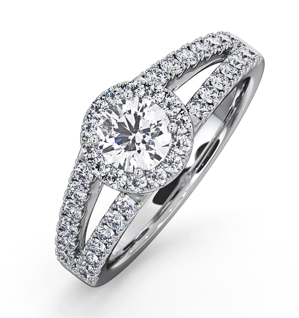 Carly Engagement Ring Wedding Band