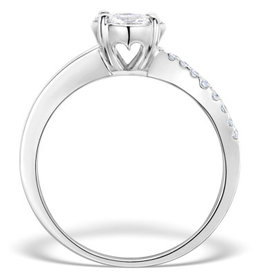 Platinum diamond engagement rings from TheDiamondStore UK