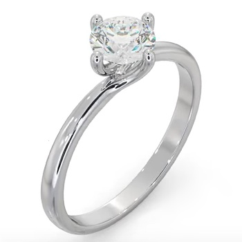 UT24 Certified 0.70CT Lily Engagement Ring YouTube (1)