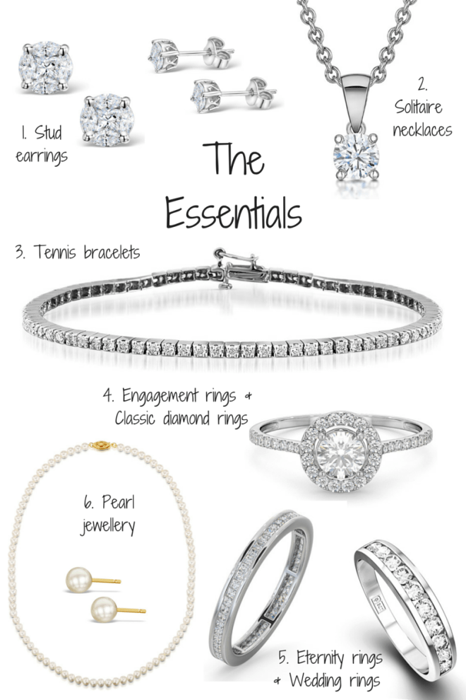 How to build an essential jewellery collection - tips by TheDiamondStore UK