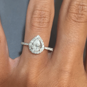 Halo and unique diamond engagement rings from TheDiamondStore UK