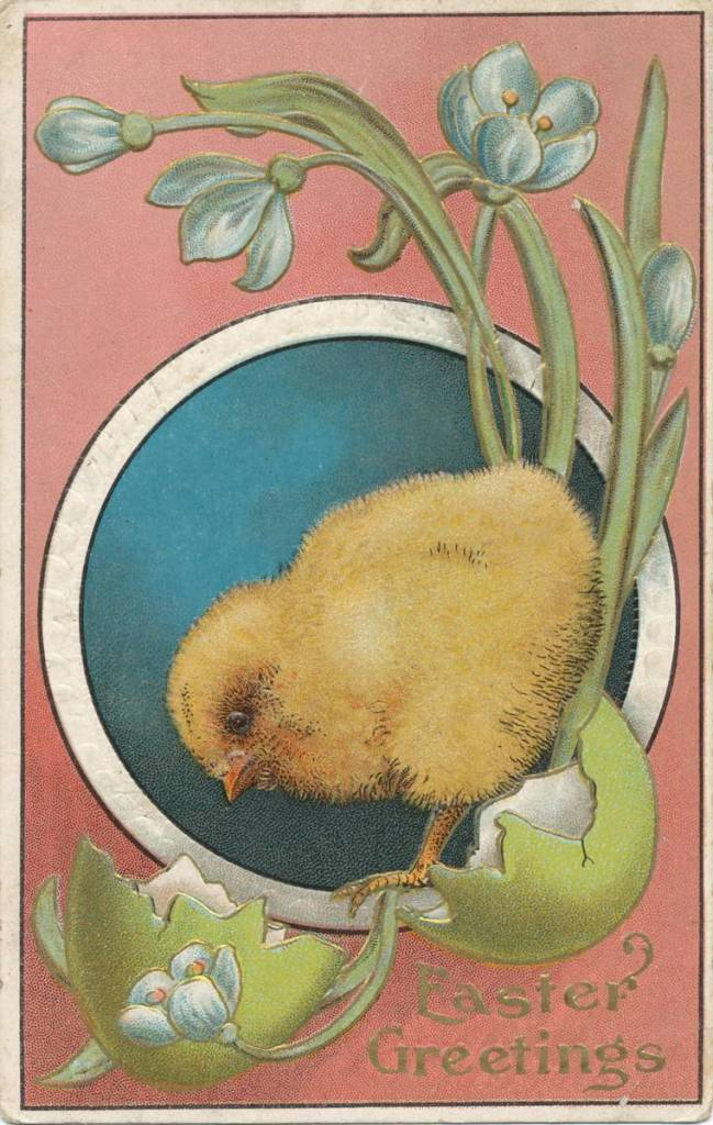 Easter postcard from around 1900
