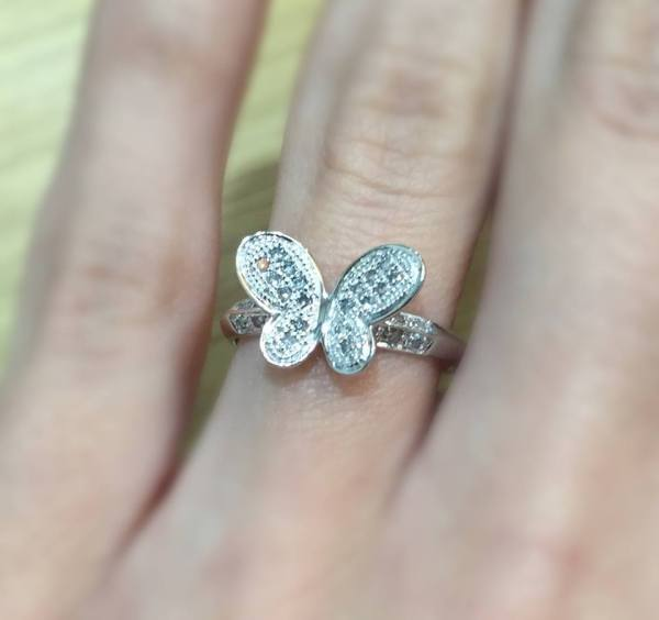 diamond butterfly ring - summer 2016 jewellery trends