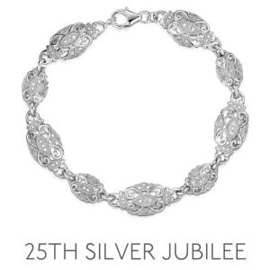 25th Anniversary Silver Jubilee - Wedding Anniversary Gemstone Jewellery