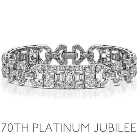 70th Anniversary Platinum Jubilee - Wedding Anniversary Gemstone Jewellery
