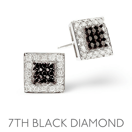 7th Anniversary Black Diamond - Wedding Anniversary Gemstone Jewellery