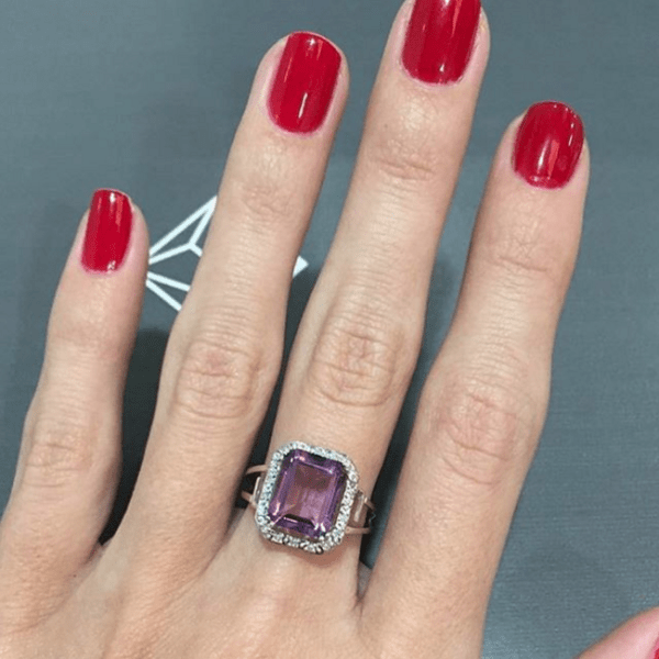 amethyst ring- Autumn Jewellery