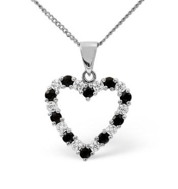 best necklaces blue sapphire diamonds