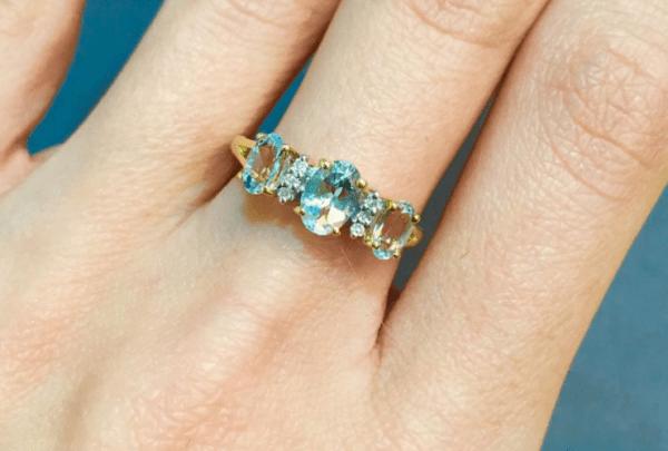 Winter Jewellery Inspiration 2016 - aquamarine rings