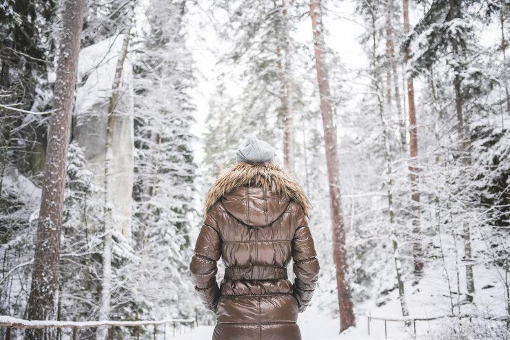 girl-in-winter-jacket-walking-in-snowy-forest-picjumbo-com