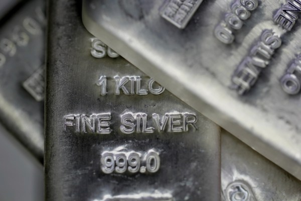 what is sterling silver - bricks of pure (fine) silver bullion