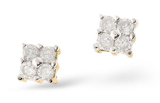 Best Gifts for Mum - diamond earrings