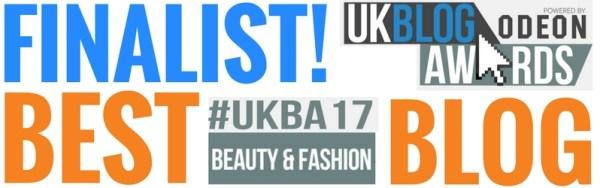 TheDiamondStore UK Blog Award 2017 Finalist Fashion & Beauty