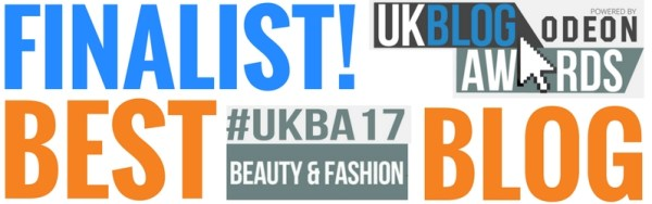 TheDiamondStore UK Blog Award 2017 Finalist Fashion & Beauty