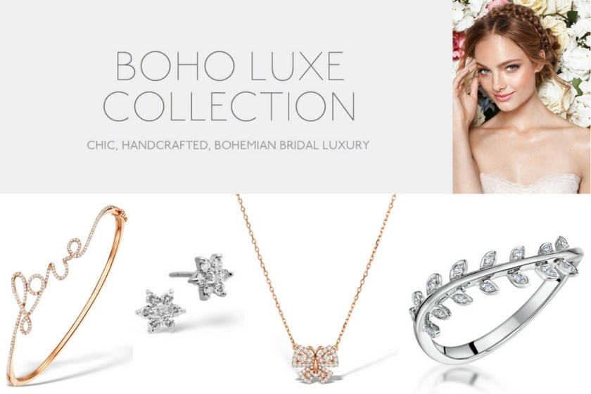 Bridal jewellery collections UK - Boho Luxe