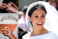 Meghan Markle's wedding day jewellery - all the details