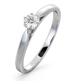 low set chloe engagement rings