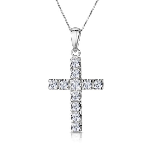 10 Best Diamond Cross Necklaces
