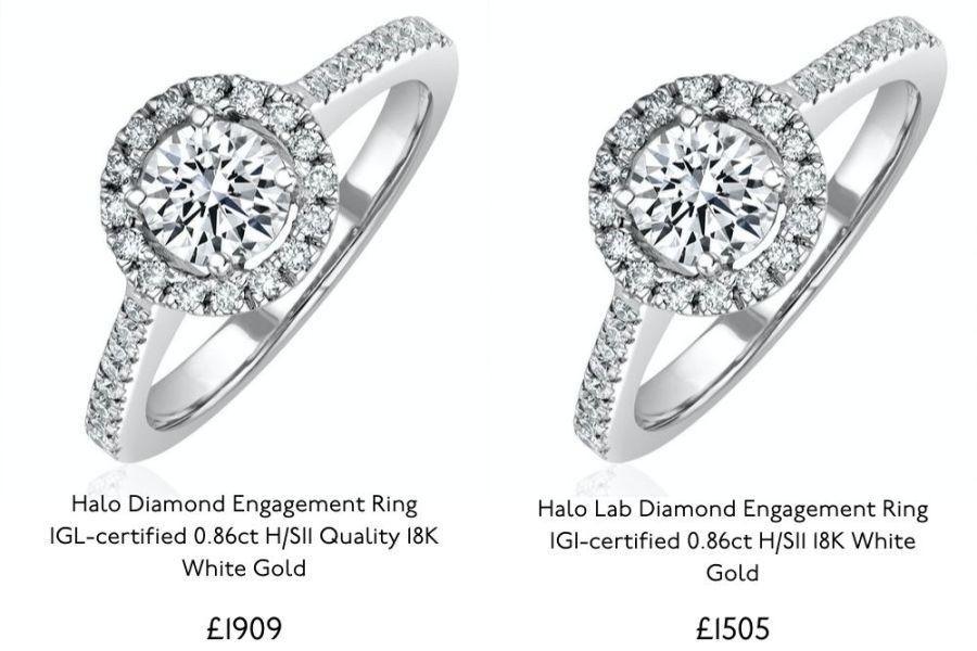 lab diamonds vs mined diamonds