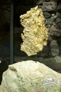 "The ""Gold Pocket"" mounted inside of a walking vault."