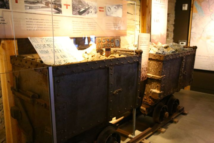 Carting Ore out of the mine