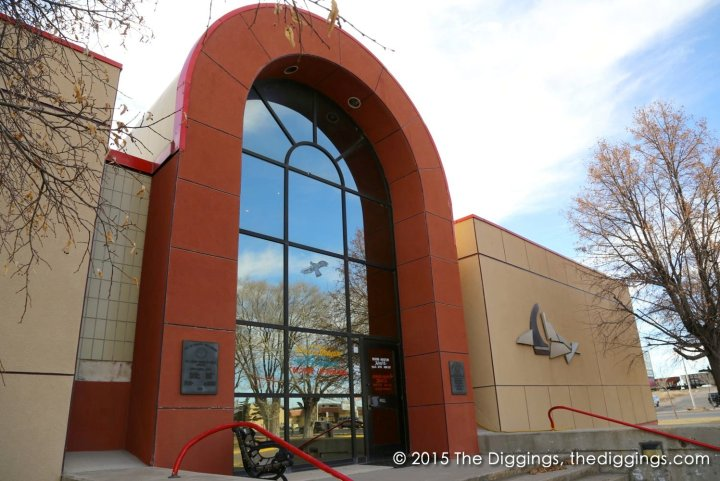 Entrance to the New Mexico Mining Museum