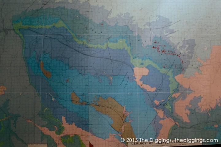 Geology of Grants uranium region