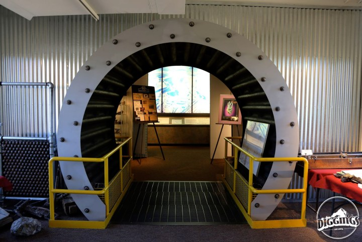 Inside the Asarco Mineral Discovery Center