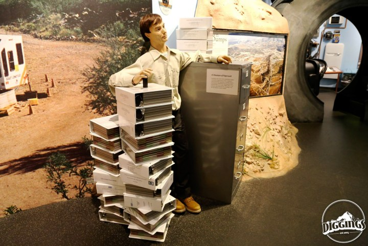 Burocracy on display