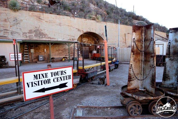 Copper Queen Mine Entrance
